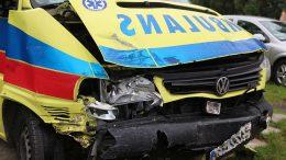 wypadek z pojazdem uprzywilejowanym