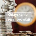 Odzyskanie części prowizji w związku z wcześniejszą spłatą kredytu konsumenckiego